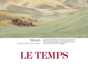 LE TEMPS, SWITZERLAND, SEPTEMBER 2014